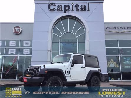 2015 Jeep Wrangler Sport (Stk: L00362A) in Kanata - Image 1 of 14