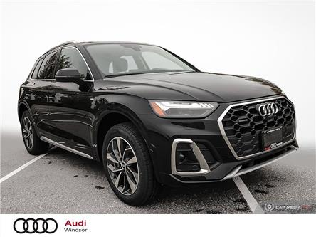 2021 Audi Q5 45 Technik (Stk: 21013) in Windsor - Image 1 of 30