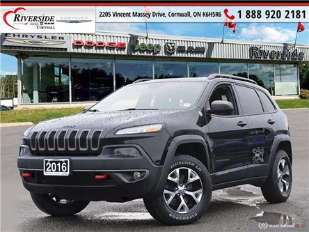 2016 Jeep Cherokee Trailhawk (Stk: V10003) in Cornwall - Image 1 of 27