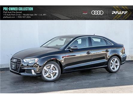 2019 Audi A3 45 Komfort (Stk: C7791) in Woodbridge - Image 1 of 22