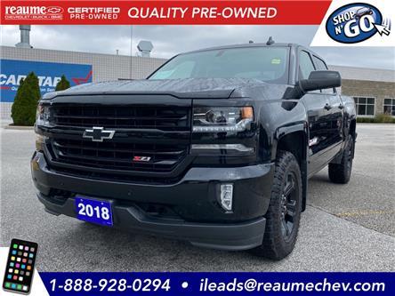 2018 Chevrolet Silverado 1500  (Stk: P-4374) in LaSalle - Image 1 of 24