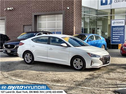 2019 Hyundai Elantra Preferred (Stk: H6118A) in Toronto - Image 1 of 28