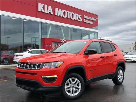 2018 Jeep Compass Sport (Stk: 21923A) in Gatineau - Image 1 of 17