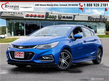 2018 Chevrolet Cruze LT Auto (Stk: N20200B) in Cornwall - Image 1 of 27