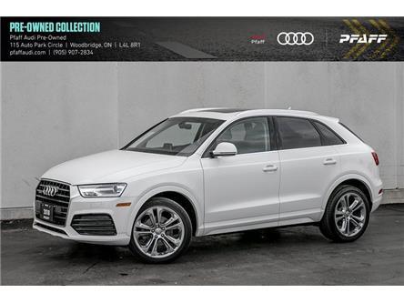 2018 Audi Q3 2.0T Progressiv (Stk: C7930) in Woodbridge - Image 1 of 22