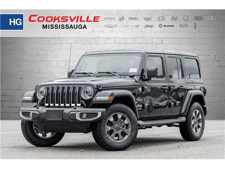 2021 Jeep Wrangler Unlimited Sahara (Stk: MW517045) in Mississauga - Image 1 of 21