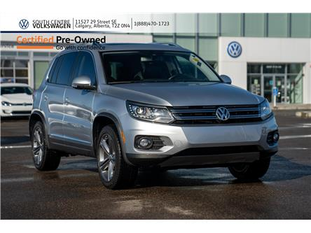 2017 Volkswagen Tiguan Highline (Stk: U6658) in Calgary - Image 1 of 38