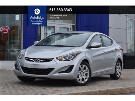 2014 Hyundai Elantra GL (Stk: A0375) in Ottawa - Image 1 of 28