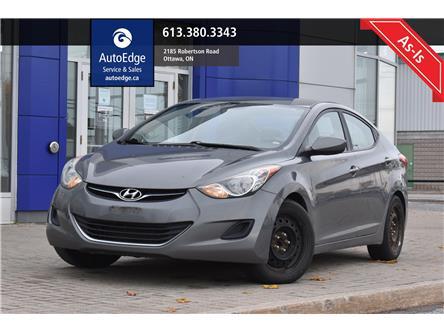 2012 Hyundai Elantra  (Stk: A0376) in Ottawa - Image 1 of 7