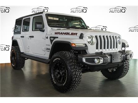 2021 Jeep Wrangler Unlimited Sahara (Stk: 44100) in Innisfil - Image 1 of 24