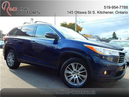 2014 Toyota Highlander XLE (Stk: 5TDJKR) in Kitchener - Image 1 of 27