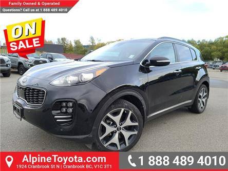 2018 Kia Sportage SX Turbo (AWD) (Stk: 5828354A) in Cranbrook - Image 1 of 26