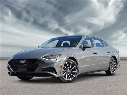 2021 Hyundai Sonata Ultimate (Stk: 22370) in Aurora - Image 1 of 6