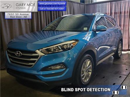 2018 Hyundai Tucson Premium 2.0L (Stk: 0SF5051A) in Red Deer - Image 1 of 20