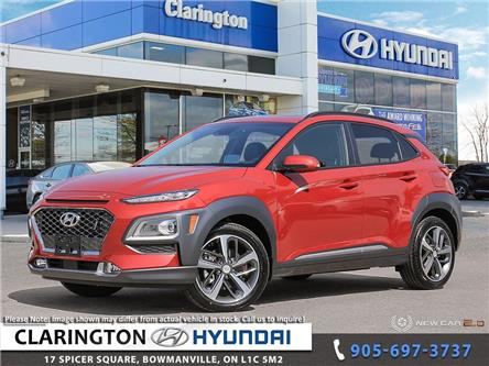 2021 Hyundai Kona 1.6T Ultimate w/Red Colour Pack (Stk: 20681) in Clarington - Image 1 of 24