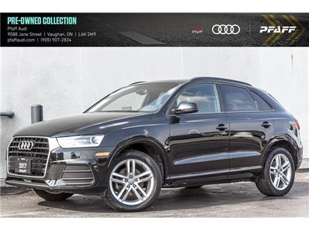 2017 Audi Q3 2.0T Komfort (Stk: C7863) in Vaughan - Image 1 of 21