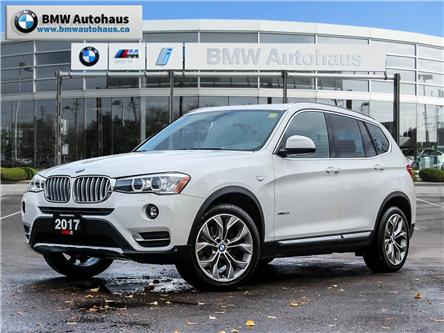 2017 BMW X3 xDrive28i (Stk: P9872) in Thornhill - Image 1 of 30