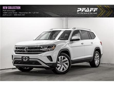 2021 Volkswagen Atlas 3.6 FSI Highline (Stk: V5545) in Newmarket - Image 1 of 22