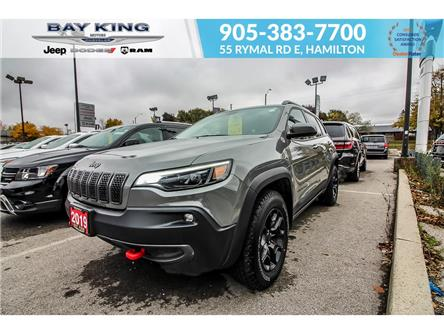 2019 Jeep Cherokee Trailhawk (Stk: 217503A) in Hamilton - Image 1 of 26