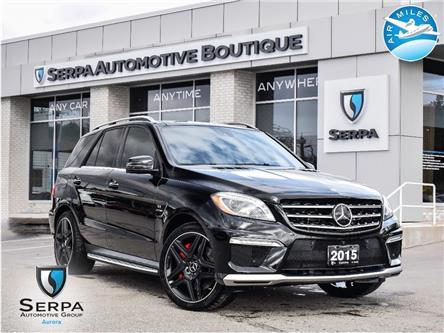 2015 Mercedes-Benz M-Class Base (Stk: P1458A) in Aurora - Image 1 of 26