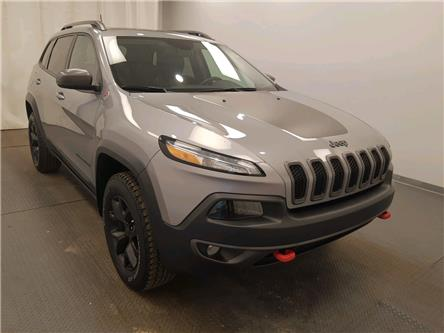 2017 Jeep Cherokee Trailhawk (Stk: 221640) in Lethbridge - Image 1 of 28