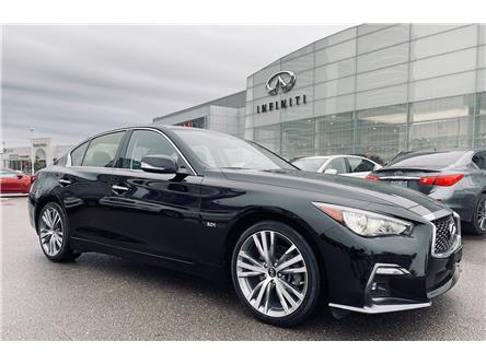 2019 Infiniti Q50 3.0t LUXE (Stk: H8630A) in Thornhill - Image 1 of 21