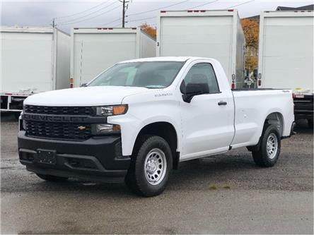 2021 Chevrolet Silverado 1500 New 2021 Regular Cab 1500 Chev. Sliverado 8' Box (Stk: PU21008) in Toronto - Image 1 of 19