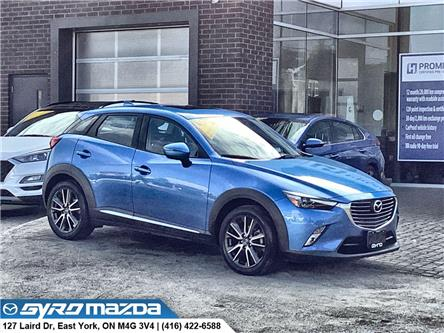 2016 Mazda CX-3 GT (Stk: 29962A) in East York - Image 1 of 30