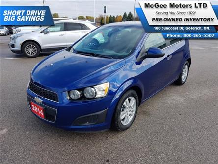 2014 Chevrolet Sonic LT Auto (Stk: 205965) in Goderich - Image 1 of 23