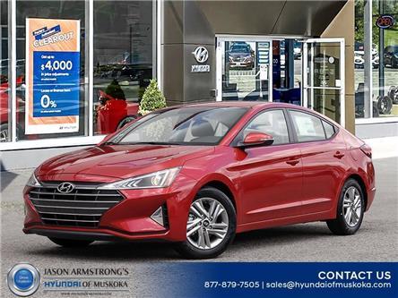 2020 Hyundai Elantra Preferred (Stk: 120-201) in Huntsville - Image 1 of 23