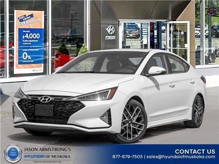 2020 Hyundai Elantra Sport (Stk: 120-215) in Huntsville - Image 1 of 23