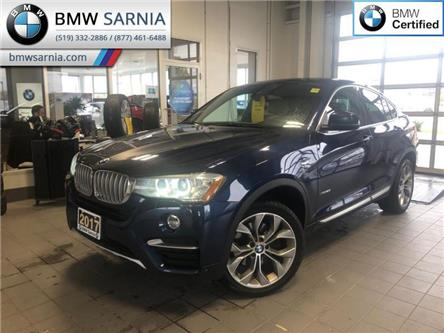 2017 BMW X4 xDrive28i (Stk: XU334) in Sarnia - Image 1 of 17