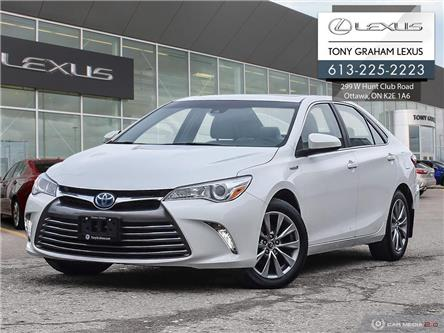 2017 Toyota Camry Hybrid XLE (Stk: T1737A) in Ottawa - Image 1 of 30