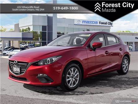 2016 Mazda Mazda3 Sport GS (Stk: ML0164) in Sudbury - Image 1 of 10