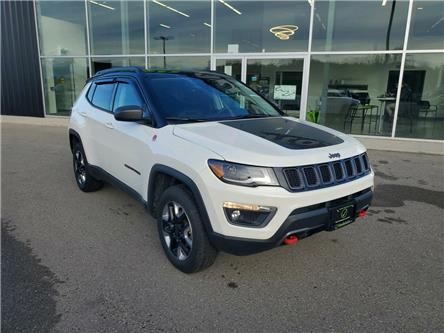 2018 Jeep Compass Trailhawk (Stk: 20-276A Tillsonburg) in Tillsonburg - Image 1 of 30