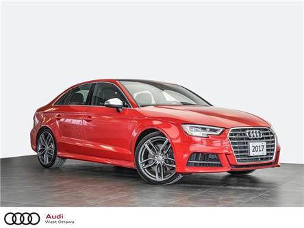 2017 Audi S3 2.0T Progressiv (Stk: 92995A) in Nepean - Image 1 of 21