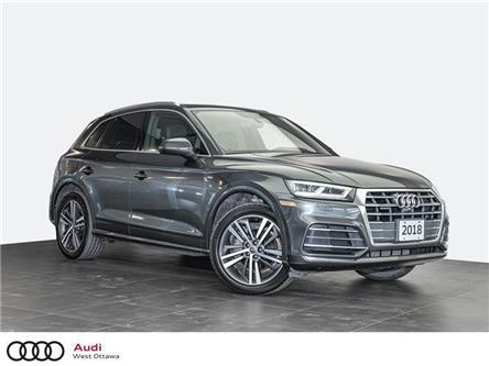 2018 Audi Q5 2.0T Technik (Stk: 93215A) in Nepean - Image 1 of 19