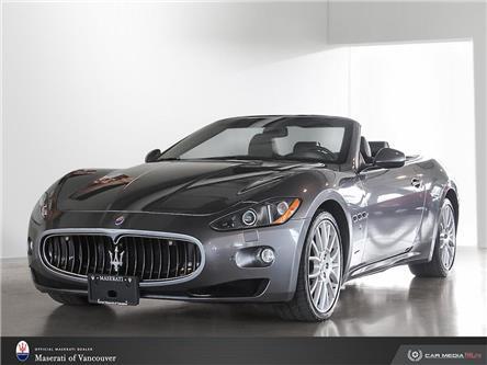 2011 Maserati GranTurismo Base (Stk: U0476) in Vancouver - Image 1 of 10