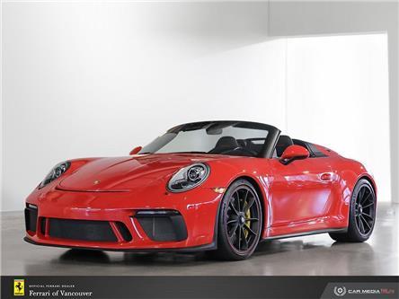 2019 Porsche 911 Speedster (Stk: U0492) in Vancouver - Image 1 of 11