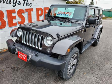 2017 Jeep Wrangler Unlimited Sahara (Stk: 20-557) in Oshawa - Image 1 of 14