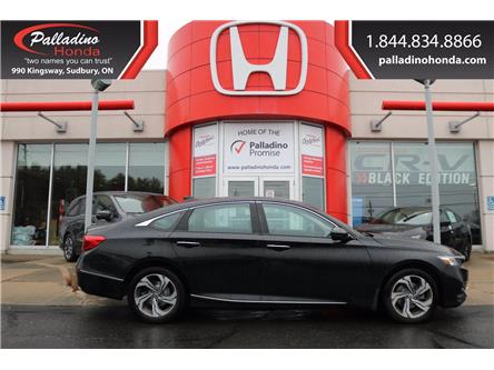 2018 Honda Accord EX-L (Stk: U9774) in Greater Sudbury - Image 1 of 25