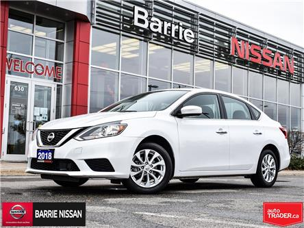 2018 Nissan Sentra 1.8 SV (Stk: P4738) in Barrie - Image 1 of 30