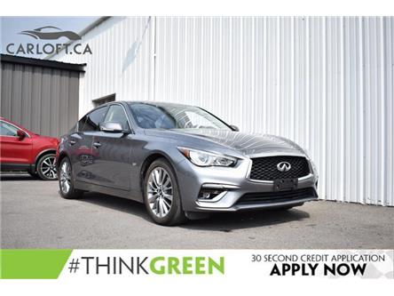2018 Infiniti Q50 3.0t LUXE (Stk: UCP2030) in Kingston - Image 1 of 31