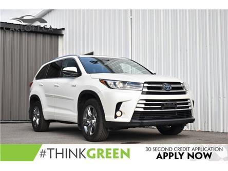 2018 Toyota Highlander Hybrid Limited (Stk: UCP2107) in Kingston - Image 1 of 31
