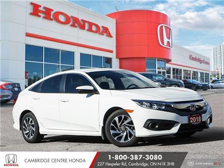 2018 Honda Civic SE (Stk: 21183A) in Cambridge - Image 1 of 27