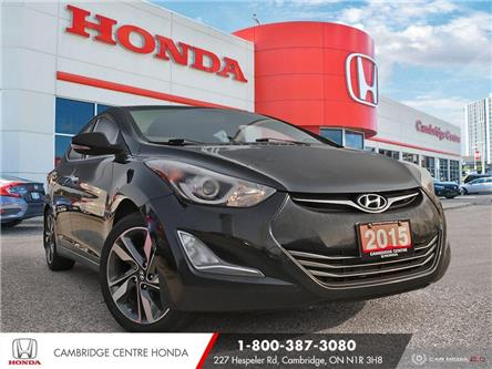 2015 Hyundai Elantra Limited (Stk: 21213A) in Cambridge - Image 1 of 27