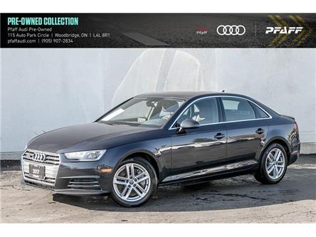 2017 Audi A4 2.0T Komfort (Stk: T18900A) in Vaughan - Image 1 of 21