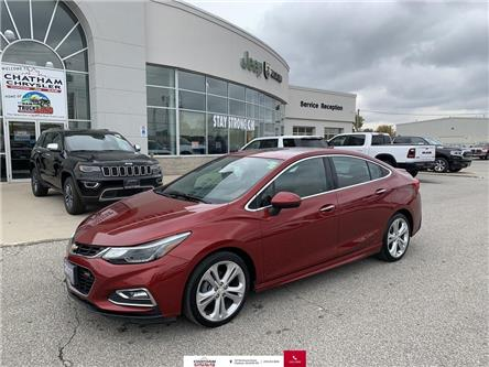 2017 Chevrolet Cruze Premier Auto (Stk: N04725A) in Chatham - Image 1 of 26