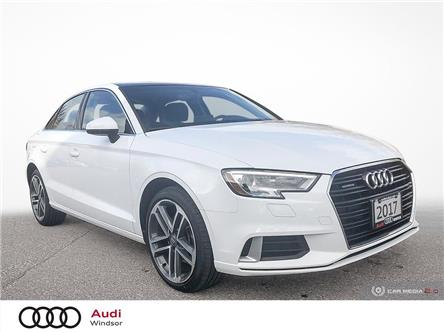 2017 Audi A3 2.0T Progressiv (Stk: 9859A) in Windsor - Image 1 of 27