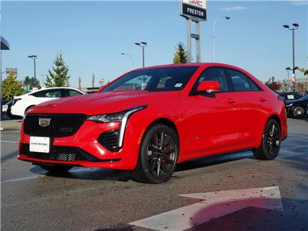 2020 Cadillac CT4 V-Series (Stk: 0211750) in Langley City - Image 1 of 6